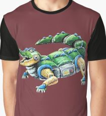 Chomp The Robo-Gator Graphic T-Shirt