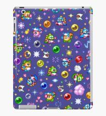 Bubble Bobble - Blue iPad Case/Skin