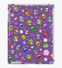 Bubble Bobble - Purple iPad Case/Skin