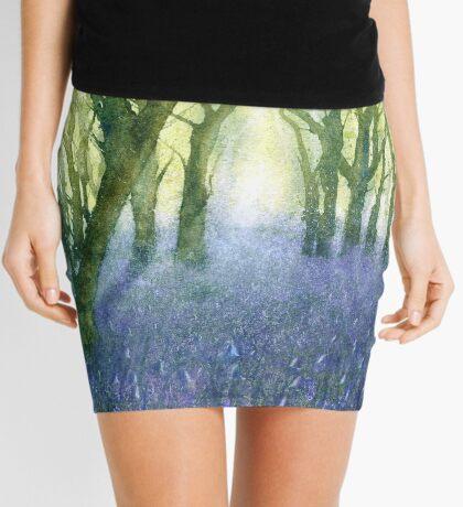 Bluebell Woods (Original painting sold) Mini Skirt