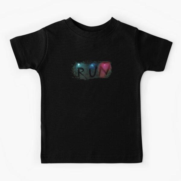Cosas más extrañas - EJECUTAR Camiseta para niños