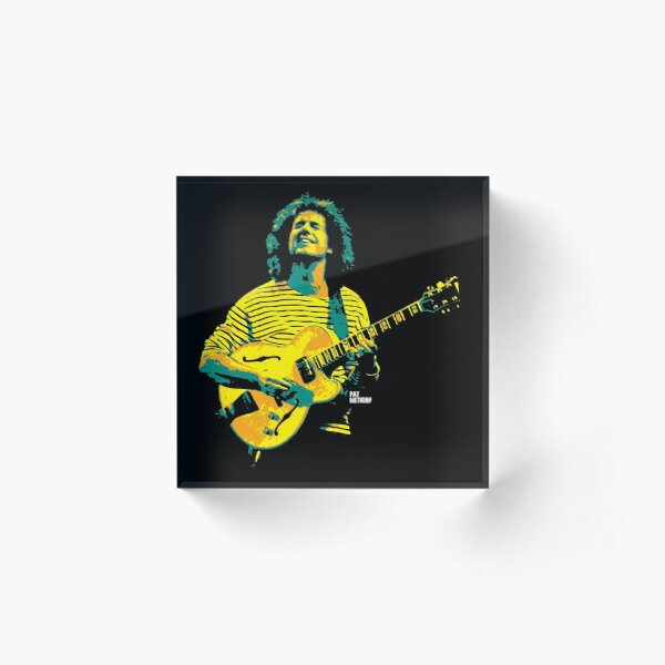 Pat Metheny. Patrick Bruce Metheny. an American jazz guitarist and composer v2 Acrylic Block