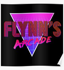 Flynn's Arcade Poster