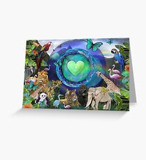 Eco Planet  Greeting Card