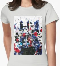 Cara africana Womens Fitted T-Shirt