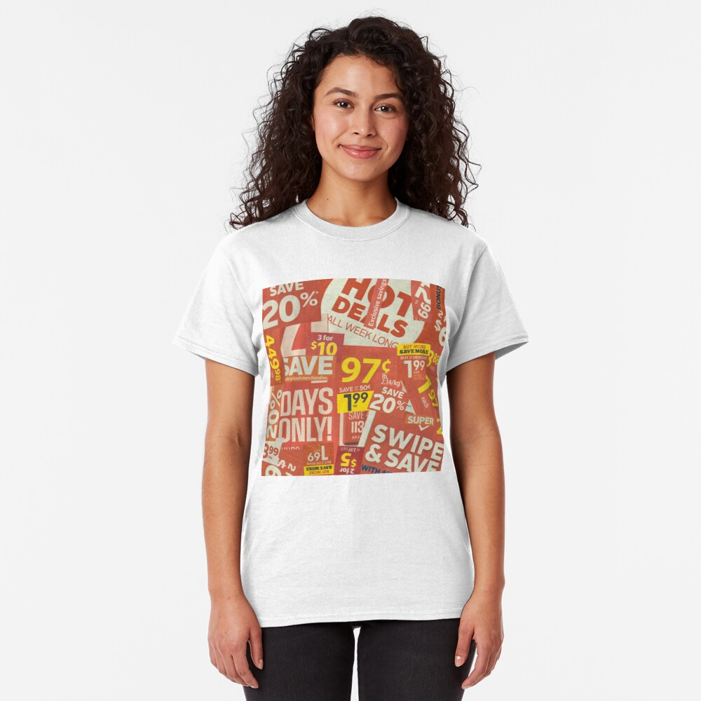 sale clippings Classic T-Shirt