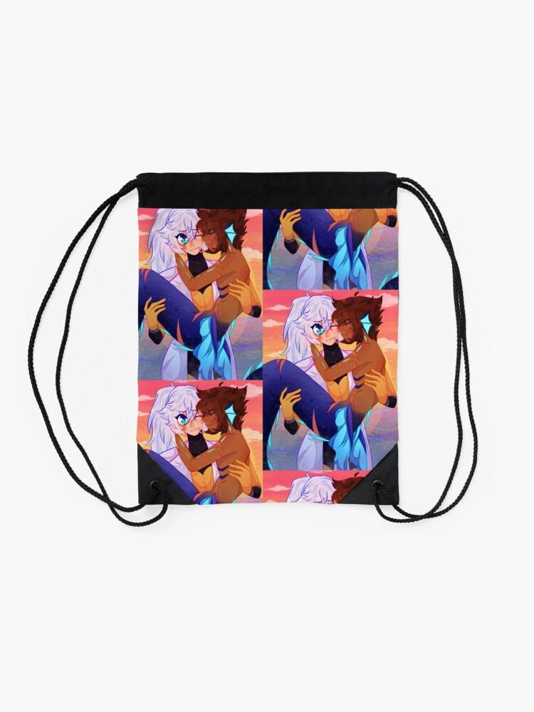 Alternate view of Soriku [Kingdom Hearts] Drawstring Bag