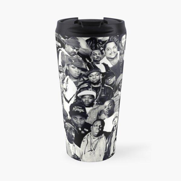 Hip Hop Legends Collage Travel Mug