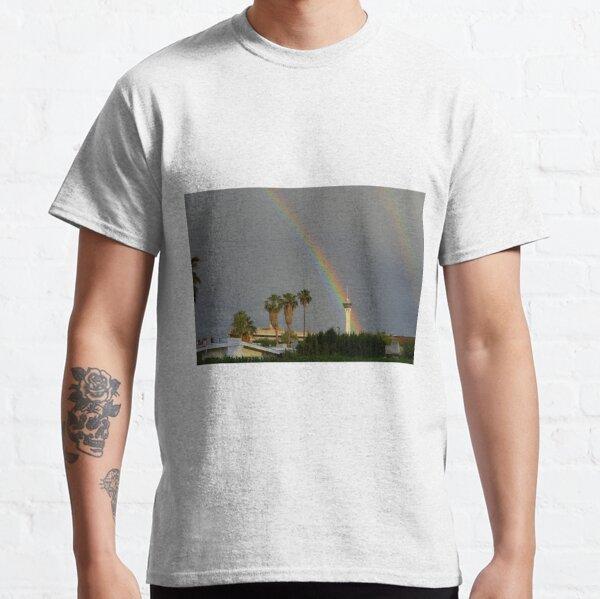 Rainbow & Stratosphere Tower Classic T-Shirt