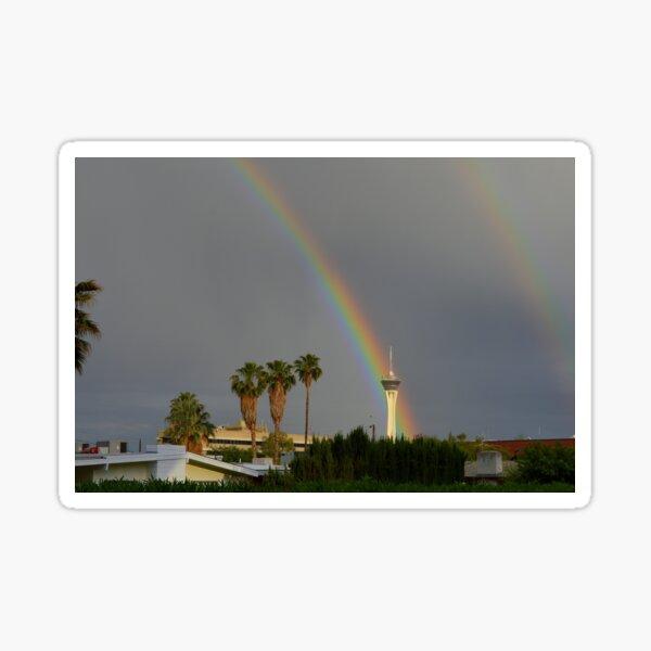Rainbow & Stratosphere Tower Sticker