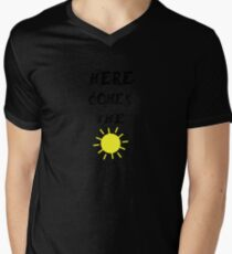 Here Comes The Sun  Mens V-Neck T-Shirt