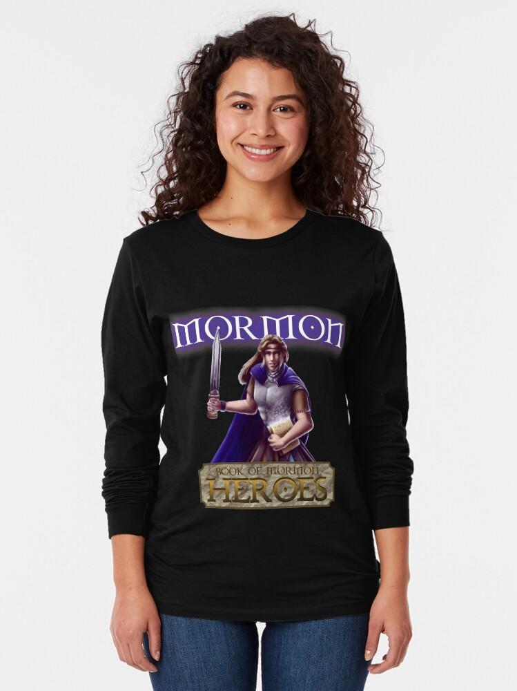 Alternate view of Mormon Long Sleeve T-Shirt