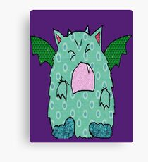Just the Mon Canvas Print
