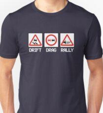 Drift Drag Rally (1) T-Shirt