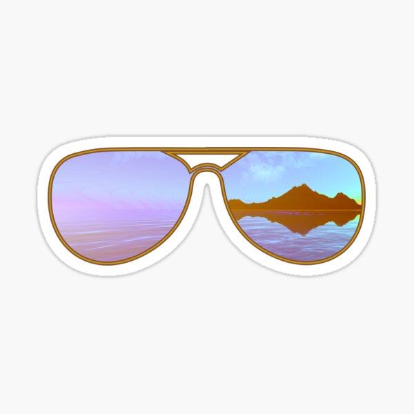 Jim's Sunglasses Sticker
