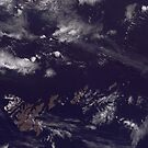 Faroe Islands Denmark Satellite Image by Jim Plaxco
