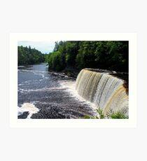 Tahquamenon Upper Falls I Art Print