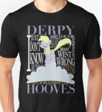 The Many Words of Derpy Unisex T-Shirt