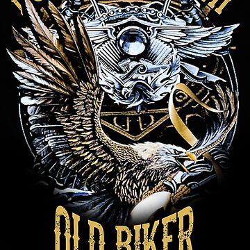 Old biker by adamben