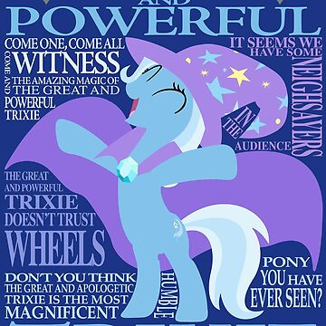 The Great and Powerful Trixie by AssaultWithCake