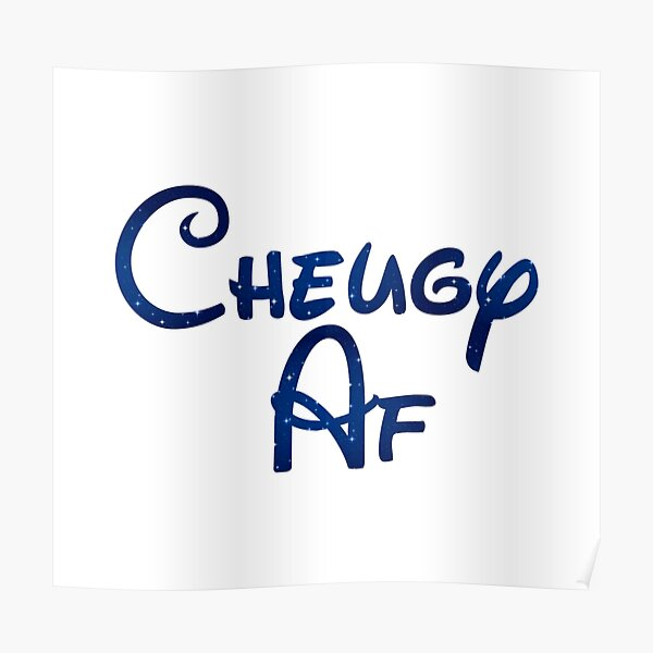 Cheugy Definition Poster