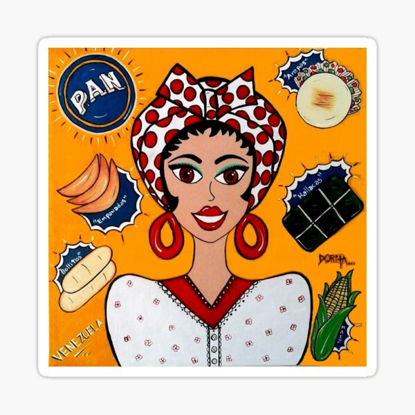 The Girl P.A.N # 1 Sticker