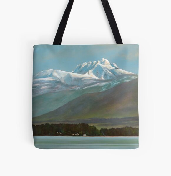 The Best of Both Worlds All Over Print Tote Bag