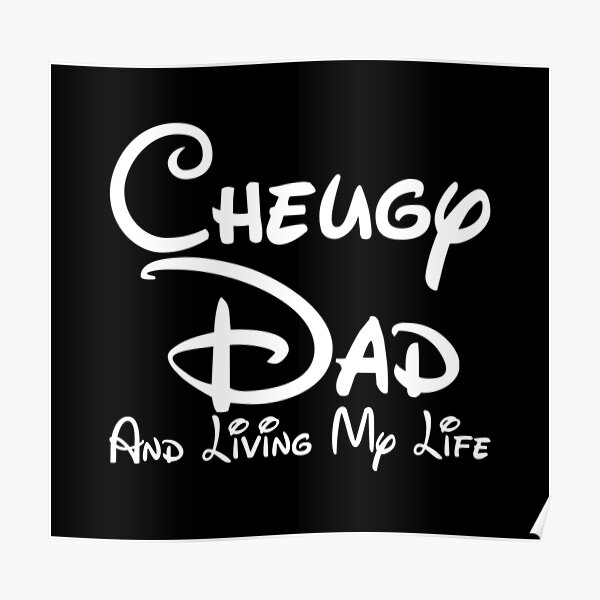 Cheugy Dad Poster