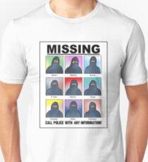 Missing Muslims! Unisex T-Shirt