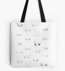Tit Tote.  (Not your Average Teen Tits.) Tote Bag