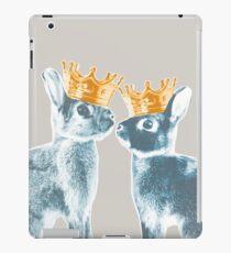 Britannia Elite - Blue | Britannia Petite Show Rabbit Bunny Fancy Rare Cute Royalty Crown King Queen iPad Case/Skin