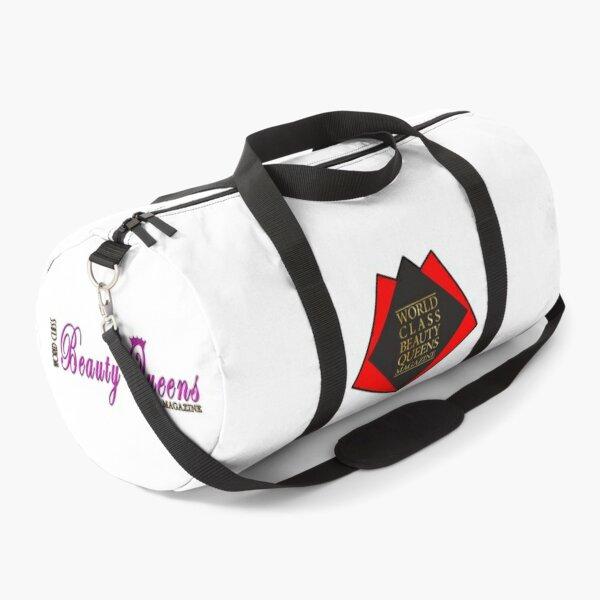 World Class Beauty Queens Magazine Logo 3 Duffle Bag