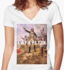 the lancelot of the revolutionary set Women's Fitted V-Neck T-Shirt