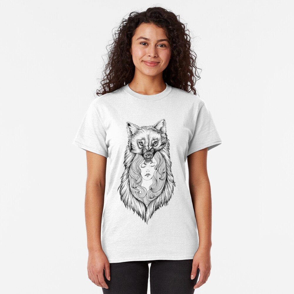 Wolves Will Keep You Warm Classic T-Shirt