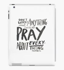 Dont Worry, Pray iPad Case/Skin