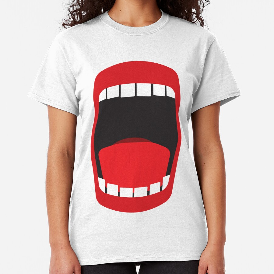 big open mouth   Classic T-Shirt