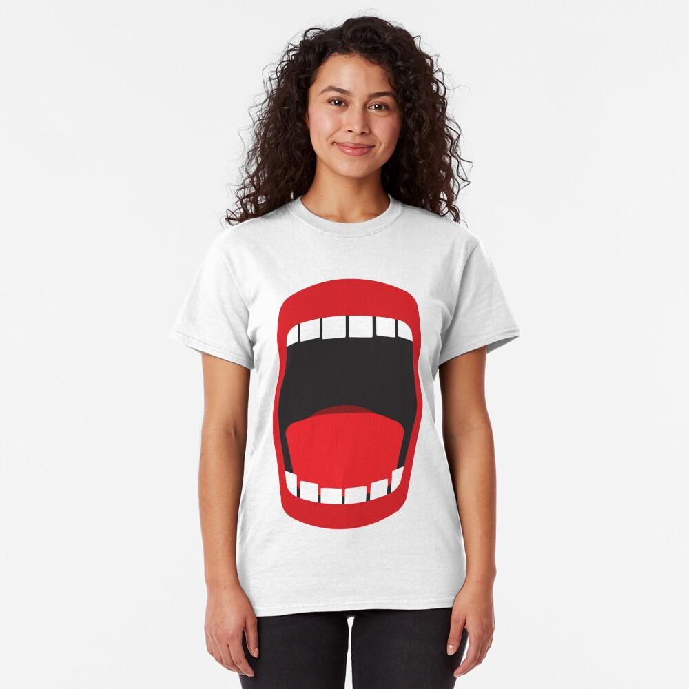 big open mouth   Classic T-Shirt