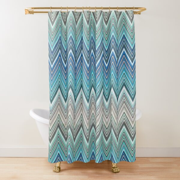 missoni home zigzag Shower Curtain