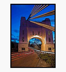 Walter Taylor Bridge - Indooroopilly.  Brisbane, Queensland. Photographic Print