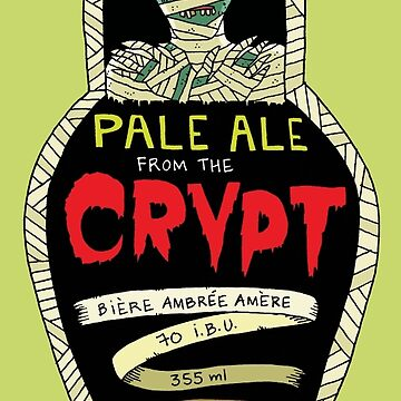 Pale ale from the crypt by irisboudreau