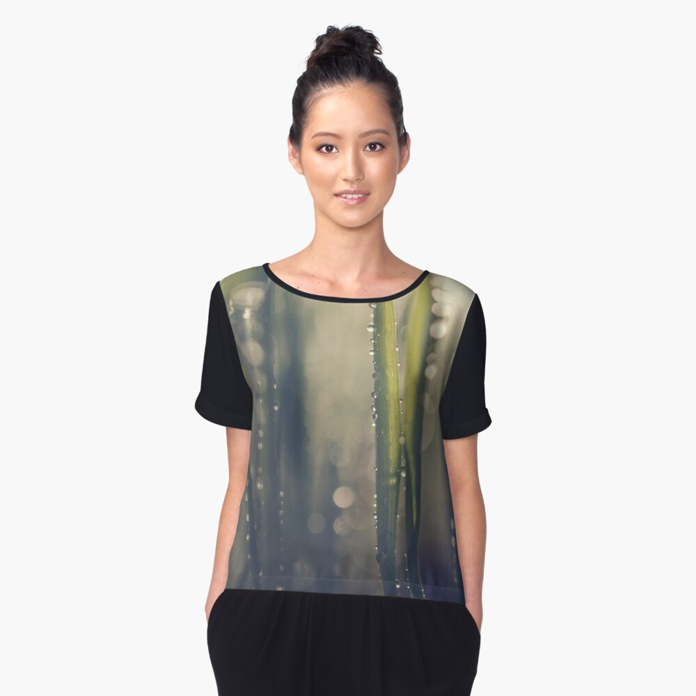 The Deep Women's Chiffon Top Front
