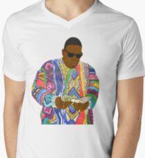 Biggie Smalls Men's V-Neck T-Shirt