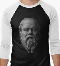 Socrates,     philosopher  Baseball ¾ Sleeve T-Shirt