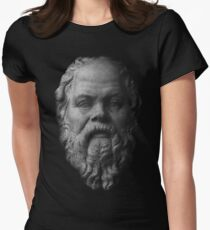 Socrates,     philosopher  Women's Fitted T-Shirt