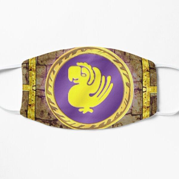 Legends of the Hidden Temple Set : Purple Parrots Flat Mask