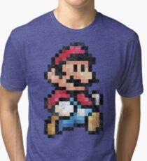 All Stars - Super Mario Bros 3  V01 Tri-blend T-Shirt