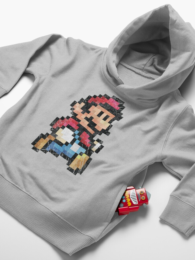 Alternate view of All Stars - Super Mario Bros 3  V01 Toddler Pullover Hoodie