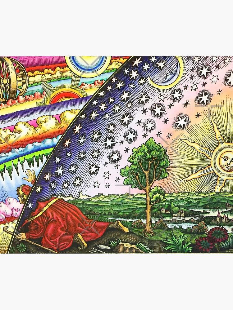 Hermetic Gnostic - Tapestry, T Shirt, and Mask  by bigdaddynutnut