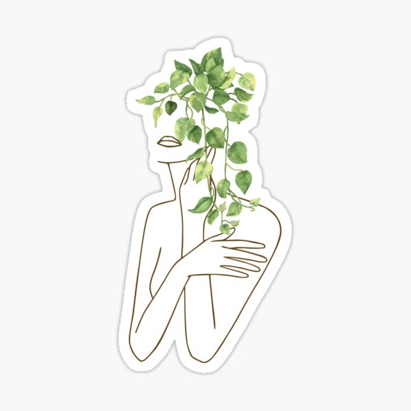 Thoughts of Leaves Sticker