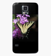 Tiger Swallowtail Butterfly on Garden Phlox Case/Skin for Samsung Galaxy